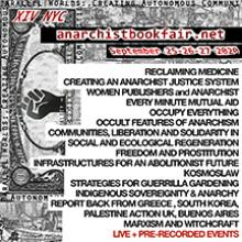 New York City Virtual Anarchist Bookfair